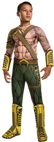 Batman v Superman: Dawn of Justice - Deluxe Aquaman Costume For Kids
