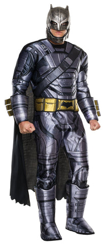 Batman v Superman: Dawn of Justice - Mens Deluxe Armored Batman Costume