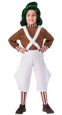 Willy Wonka & the Chocolate Factory: Oompa Loompa Classic Child Costume