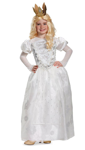 Alice Through the Looking Glass: White Queen Deluxe Child Costume