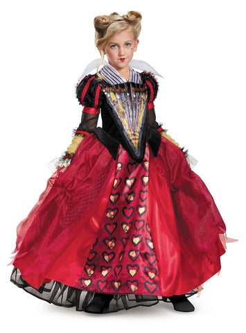 Alice Through the Looking Glass: Red Queen Deluxe Child Costume