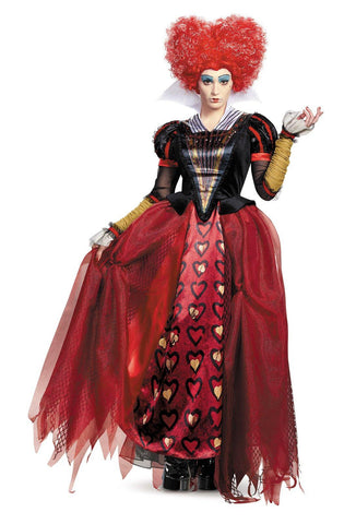 Alice Through the Looking Glass: Red Queen Deluxe Adult Costume Plus