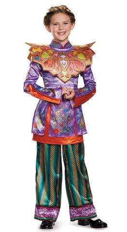 Alice in Wonderland: Through the Looking Glass Deluxe Asian Alice Child Costume