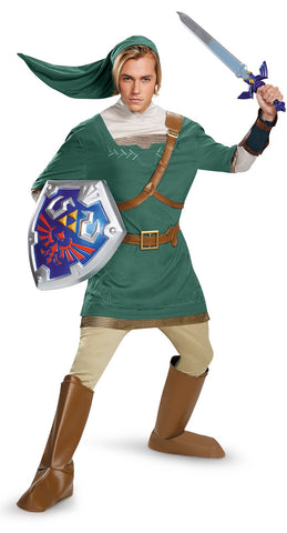 Legend of Zelda Link Prestige Male Teen Costume
