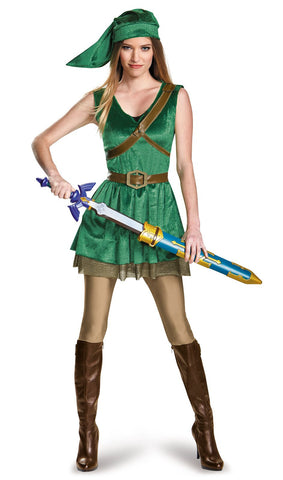 Legend of Zelda Link Prestige Female Teen Costume