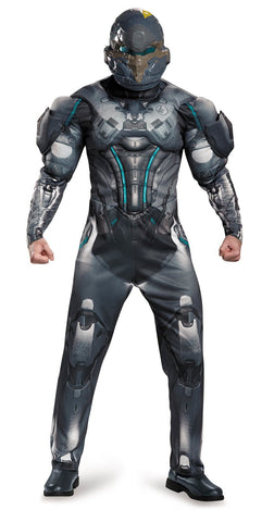Halo Spartan Locke Muscle Teen Costume