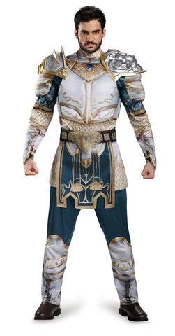 Warcraft King Llane Classic Muscle Teen Costume