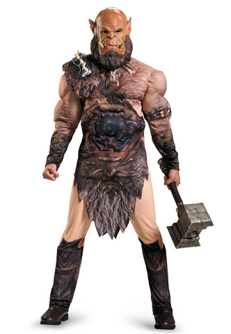 Warcraft Orgrim  Deluxe Muscle Teen Costume