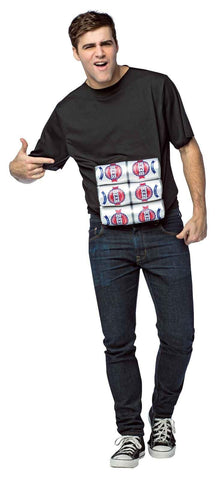 Six Pack Adult T-Shirt