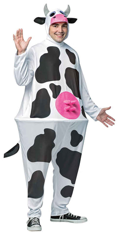Cow Adult Hoopster Costume