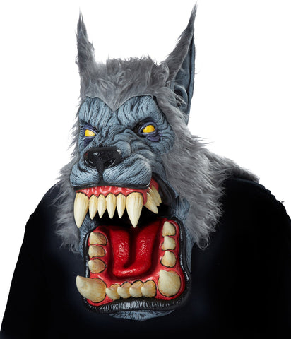Lunar Psycho Wolf Big Mouth Mask
