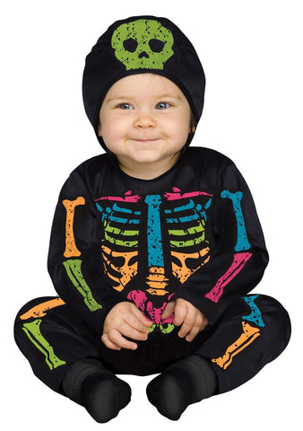Color Bones Toddler Costume