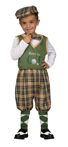 Golfer Toddler Costume