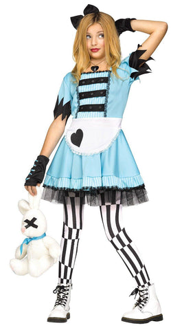 Wild Wonderland Tween Costume