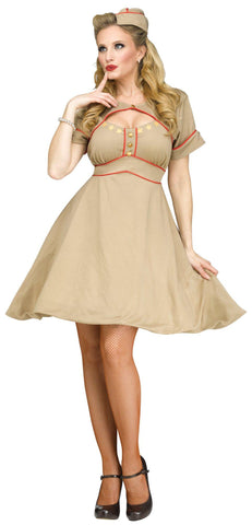 Army Gal Adult Costume