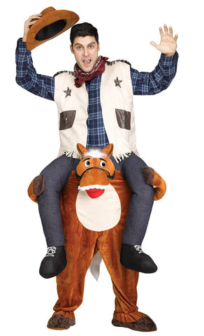 Cowboy Riding on Shoulder Adult Costume