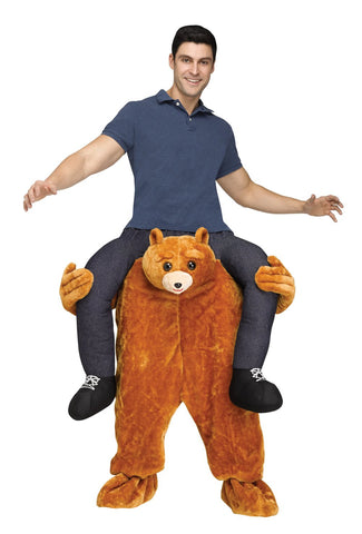 Teddy Bear Riding on Shoulder Adult Costume