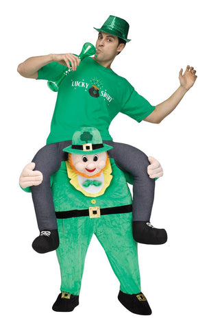 Leprechaun Riding on Shoulder Adult Costume