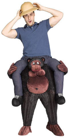Gorilla Riding on Shoulder Adult Costume
