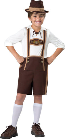 Bavarian Boy Child Costume