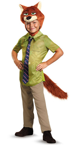 Zootopia Nick Wilde Classic Child Costume