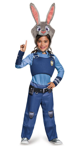 Zootopia Judy Hopps Classic Child Costume
