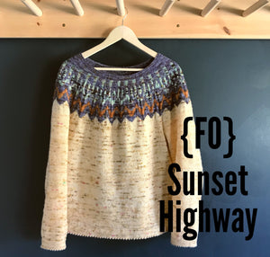 {FO} Sunset Highway Sweater, Part 1