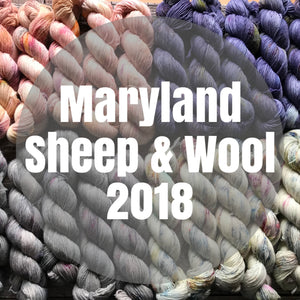 Maryland Sheep & Wool 2018