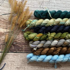 Woodland Plush Single Mini Skein Set