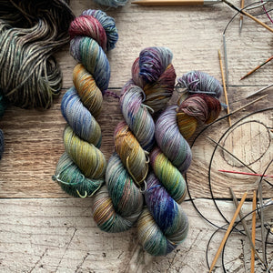 Speckled Cornucopia  on Nimble Sock