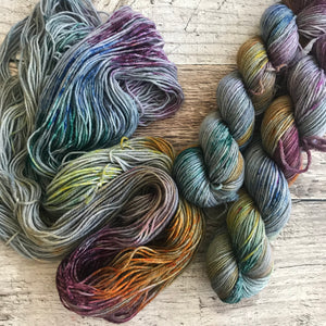 Speckled Cornucopia on Everyday DK Yarn