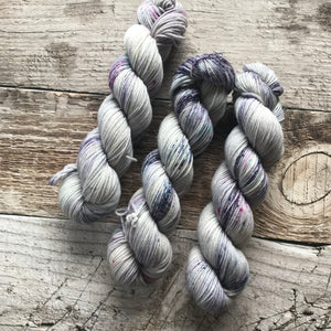 Purple Rain on Everyday DK Yarn