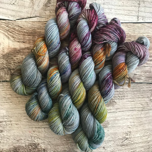 Speckled Cornucopia  Everyday Worsted Yarn