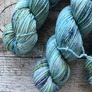 Robin's Egg on Everyday Worsted Yarn