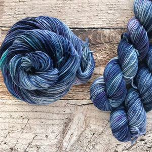 Hard Water on Everyday Worsted Yarn