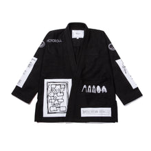 Load image into Gallery viewer, BATCH #112 VITAL PRINCIPLES KIMONO [BLACK]