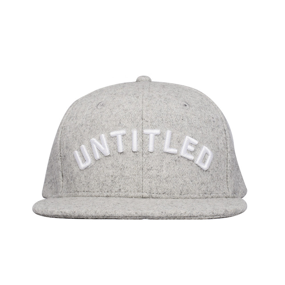 Arc Logo Snapback Grey