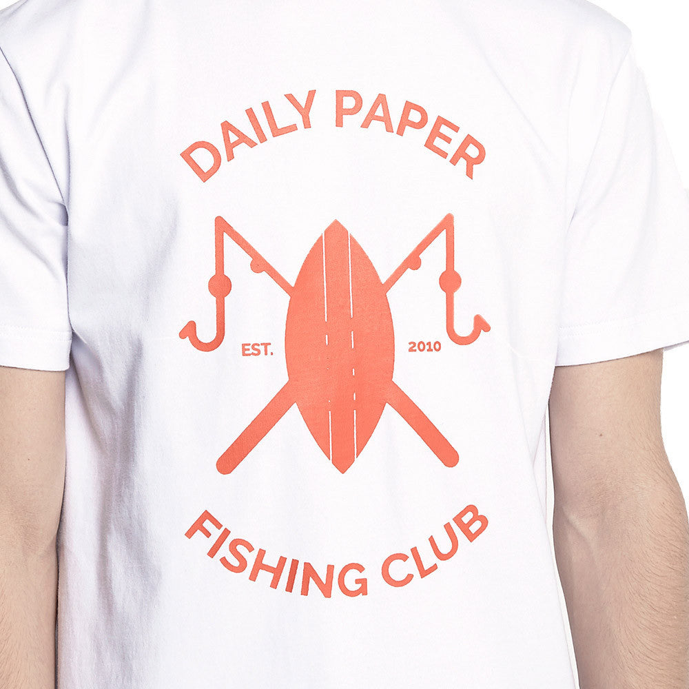 Fishing Club T-Shirt White