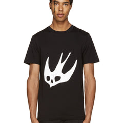 Swallow Logo T-Shirt Black
