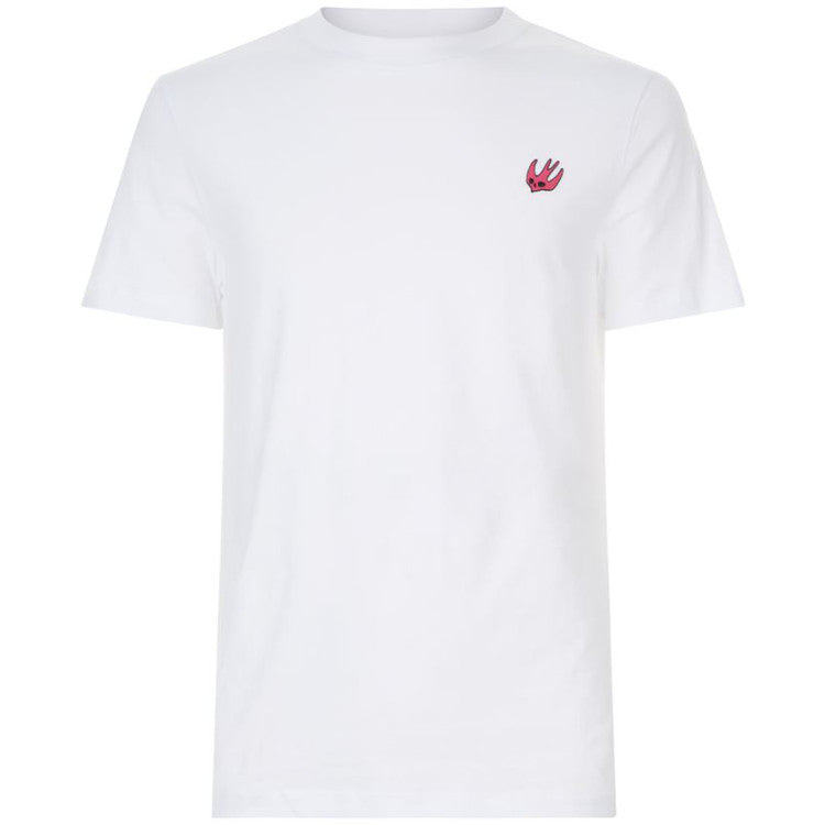 Small Swallow Logo T-Shirt White