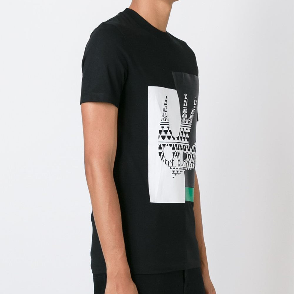 Masai Fairisle Swallow T-Shirt Black