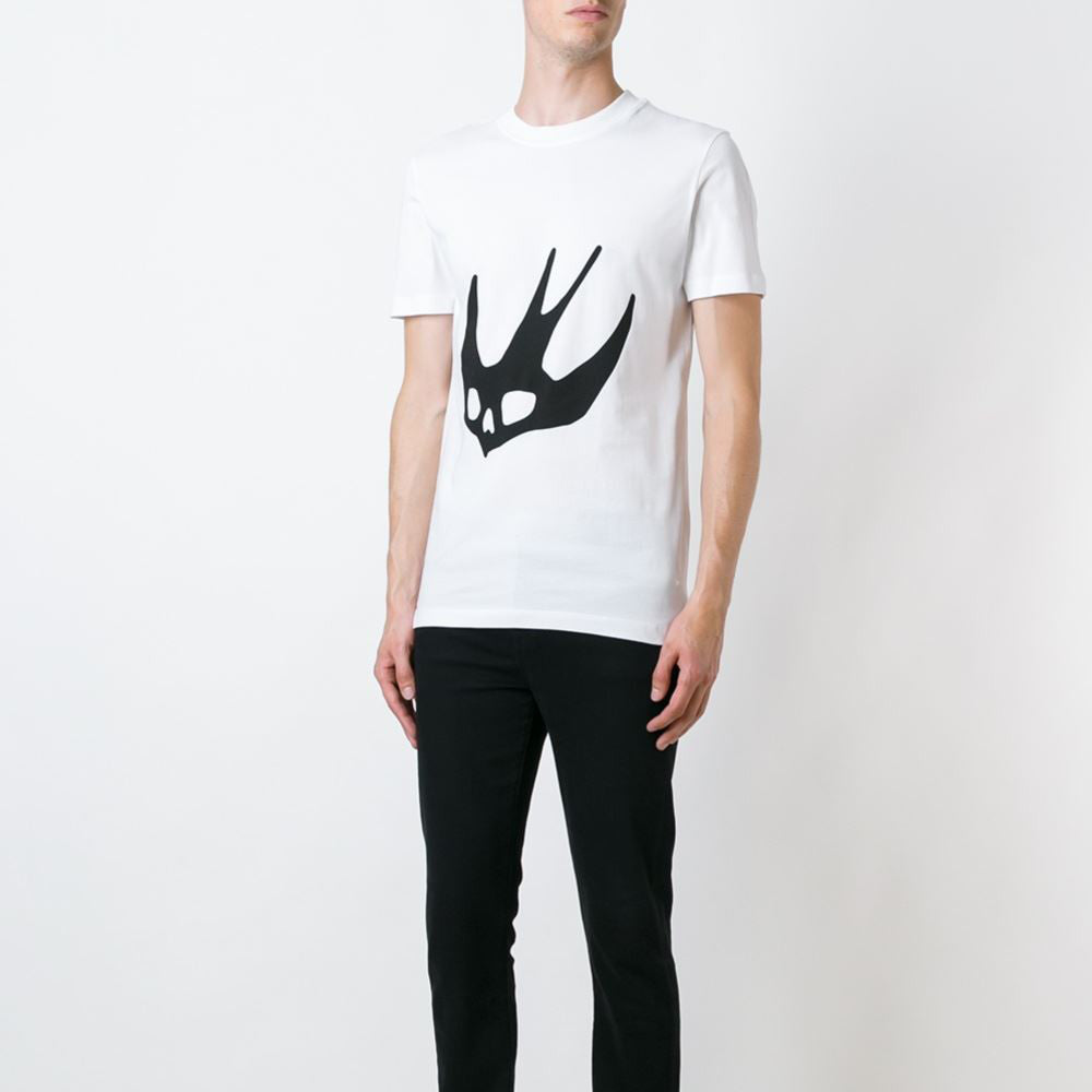 Swallow Logo T-Shirt White