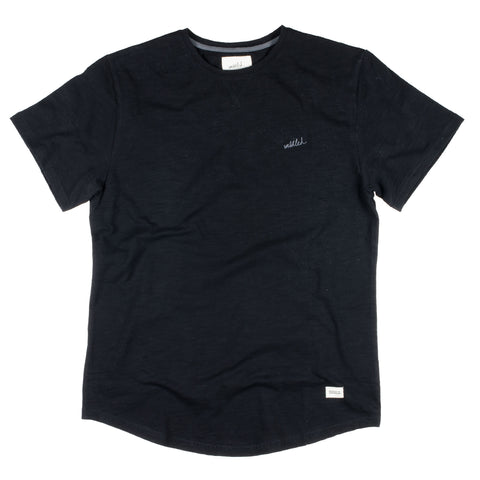 Slub T-Shirt Black