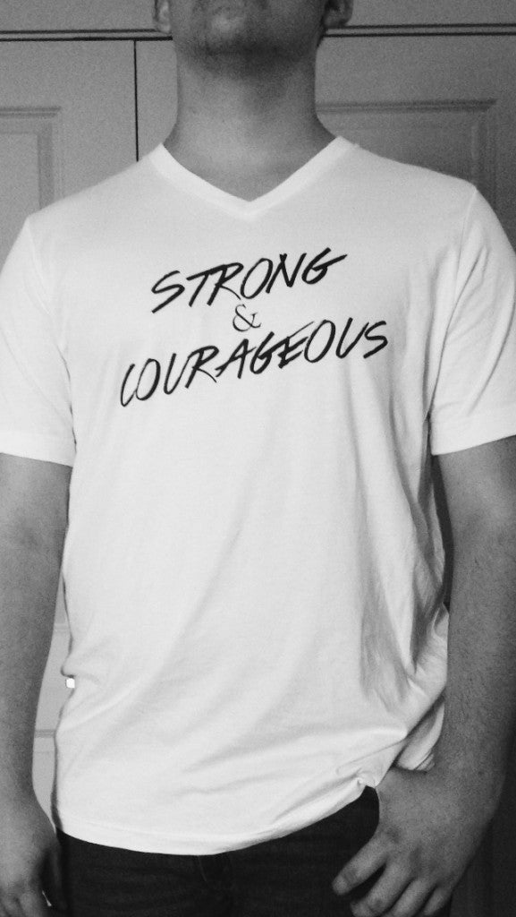 Strong and Courageous #TShirtThursday