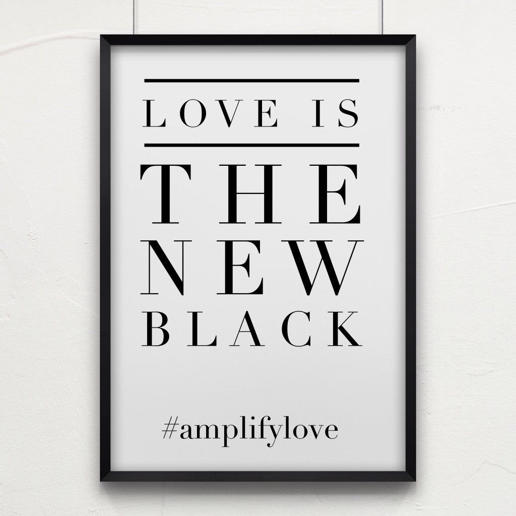 LOVE is always fashionable.  #fridayFASHION #amplifyLOVE