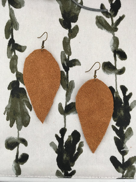 Suede Earrings