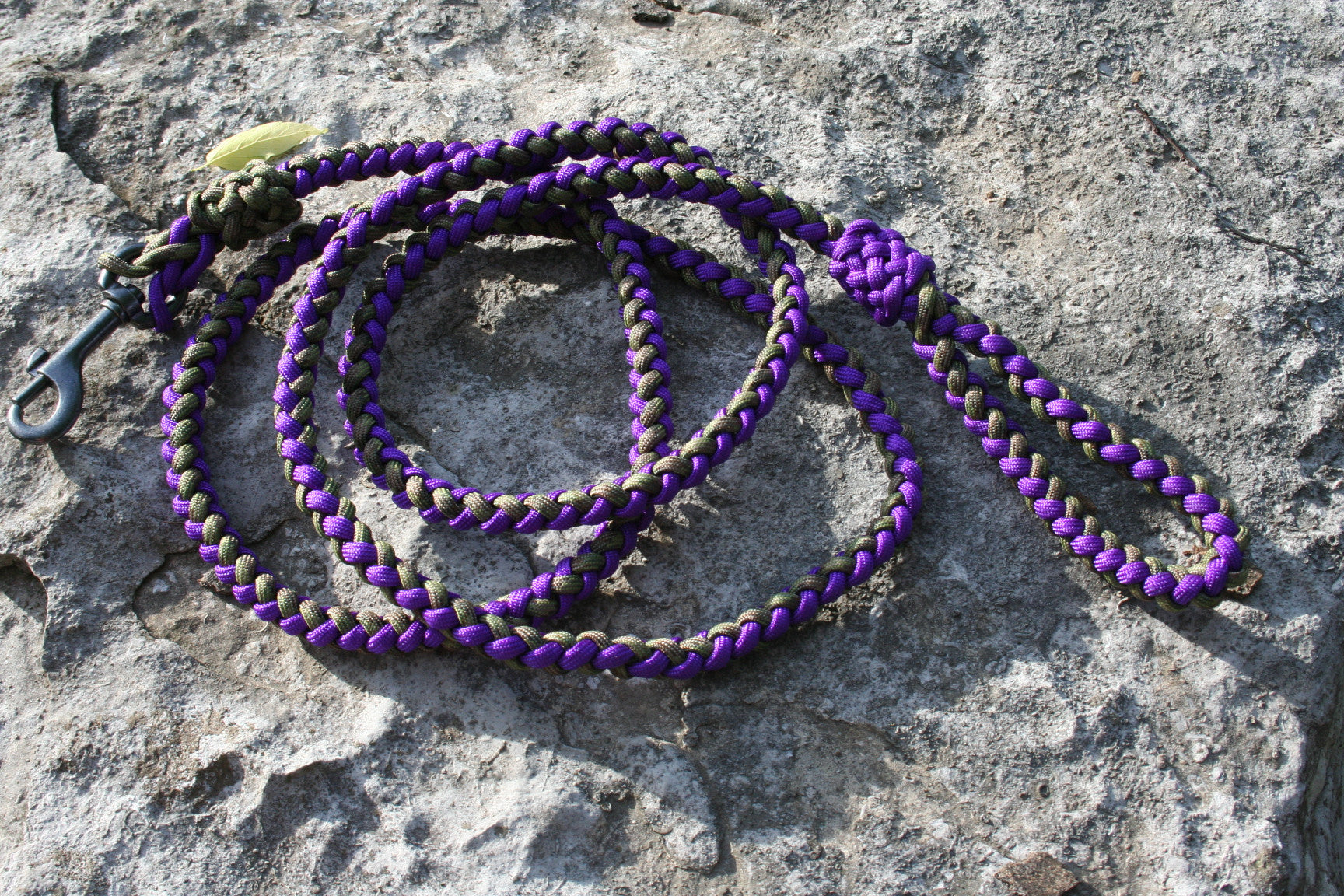 6 Foot Paracord Dog Leash Made in USA