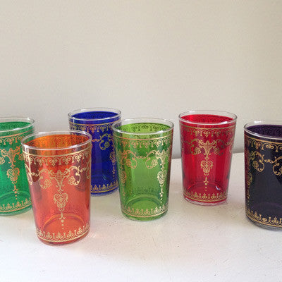 Moroccan Tea Glass - Luxe