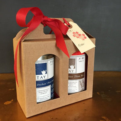 Twin Tea Gift Box