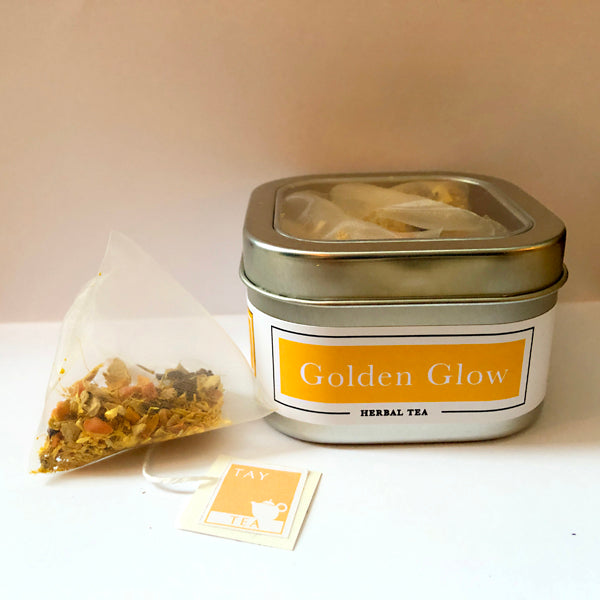 Golden Glow Tea Bags